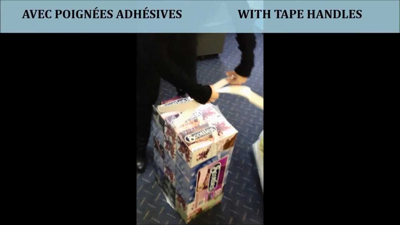 Carry Handle Tape | Poignees adhesive