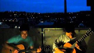 We are acoustic guitar duo. This piece is our second trial. I hope ...