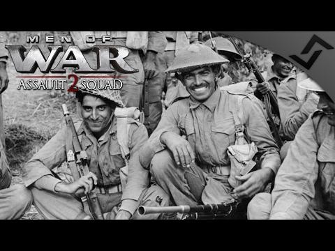 India & Japan vs Britain in India - Men of War: Assault Squad 2 - Rising Sun Mod - Part 1/2