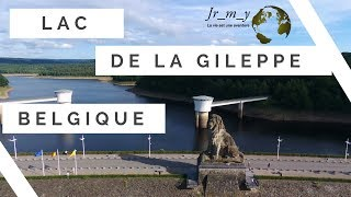 Visite du lac de la Gileppe BELGIQUE