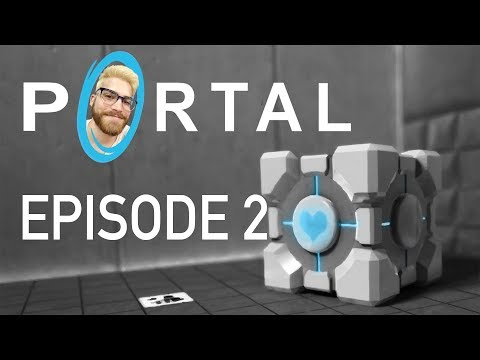 MY BABY COMPANION CUBE - Patrick Plays: Portal - Ep. 2