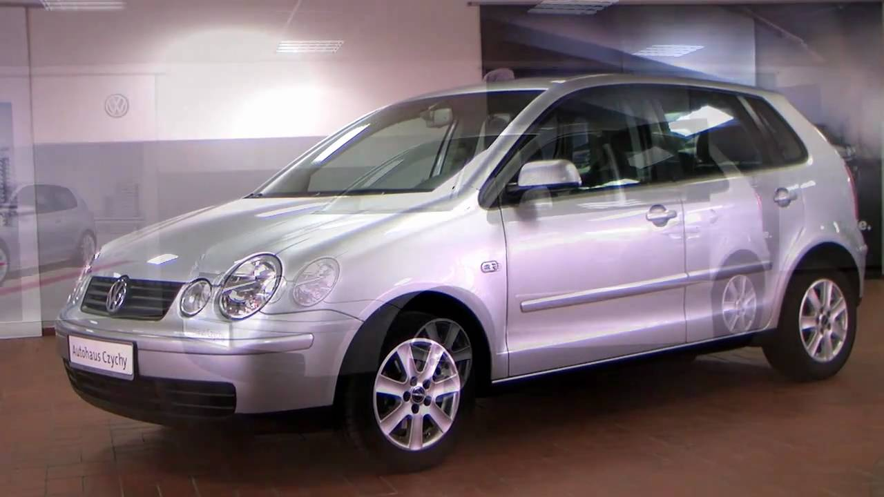 volkswagen polo 1 4 cricket automatik 2004 silber metallic. Black Bedroom Furniture Sets. Home Design Ideas