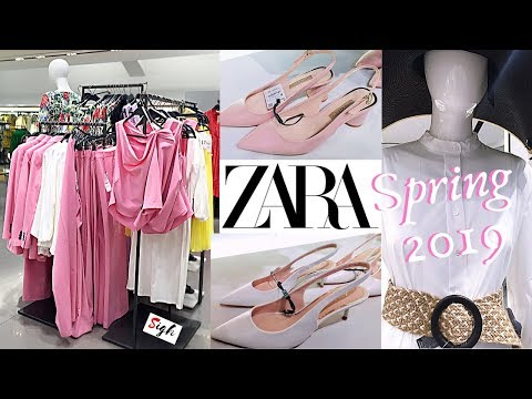 ZARA Spring Collection 2019 - Shoes * Bags * Ladies Wear