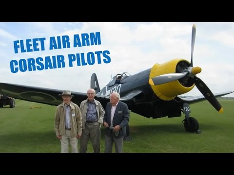 CRHnews - Fleet Air Arm 'Whistling Death' Corsair pilots re-united