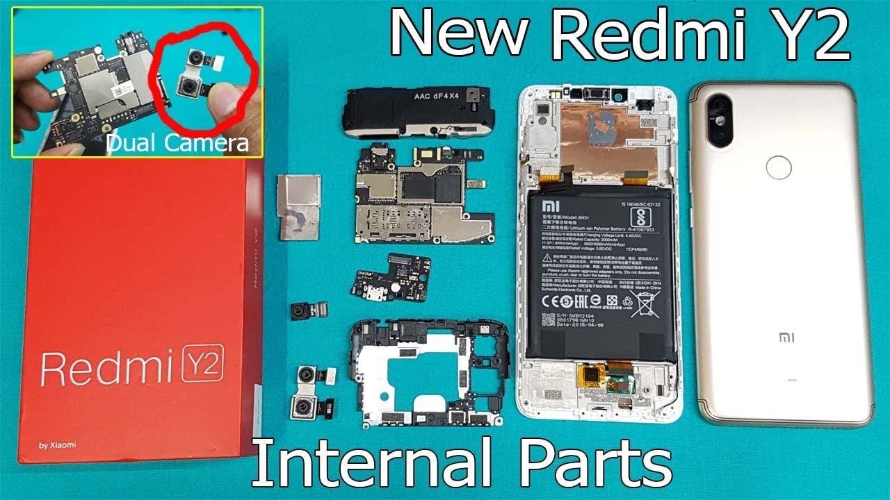 New Redmi Y2 Full Disassembly