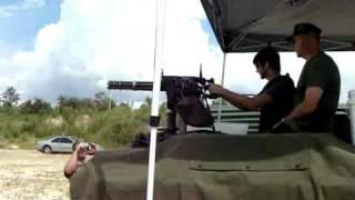 minigun on hummer Full Automatic Rangers