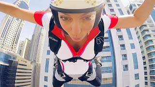 Dubai Freefall | Roberta Mancino Princess Tower exit | raw 4k short