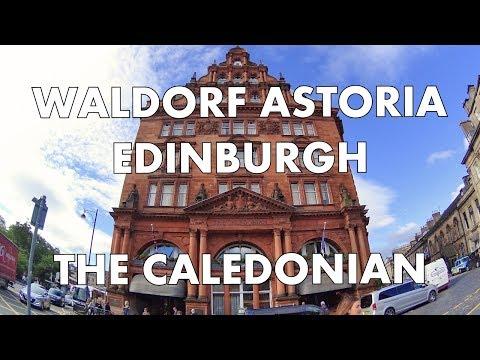 LUXURY IN SCOTLAND! Waldorf Astoria Edinburgh The Caledonian - Suite Tour