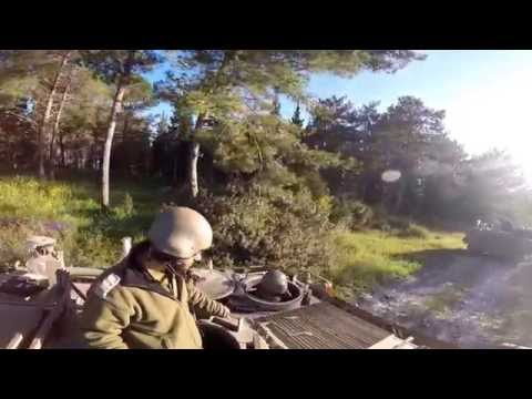 GoPro - Driving the APC M113 (Armored Personnel Carrier)