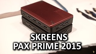 Skreens - Multiple HDMI inputs on one display - PAX Prime 2015