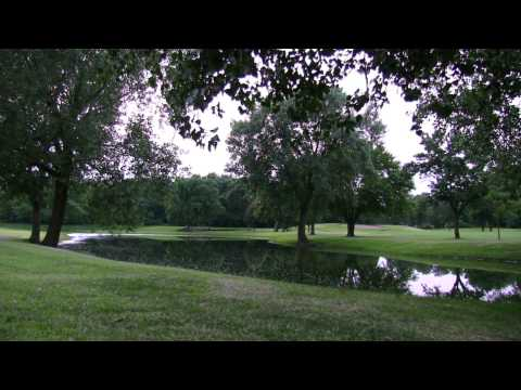 RELAXING REAL~TIME NATURE SOUNDS & SUNSET ON THE GOLF COURSE1080p