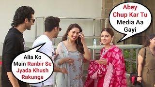Kalank Cast Masti Behind The Scenes   Alia Bhatt, Varun Dhawan, Aditya Roy Kapoor