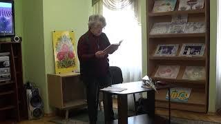 """Лариса Травникова """"Собора маковка блестит в листве деревьев..."""" - читает автор"""