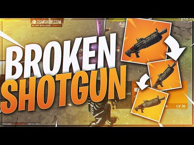 TSM Myth - TRIPLE HEAVY SHOTGUNS!? WHY NOT?! (Fortnite BR Full Match)