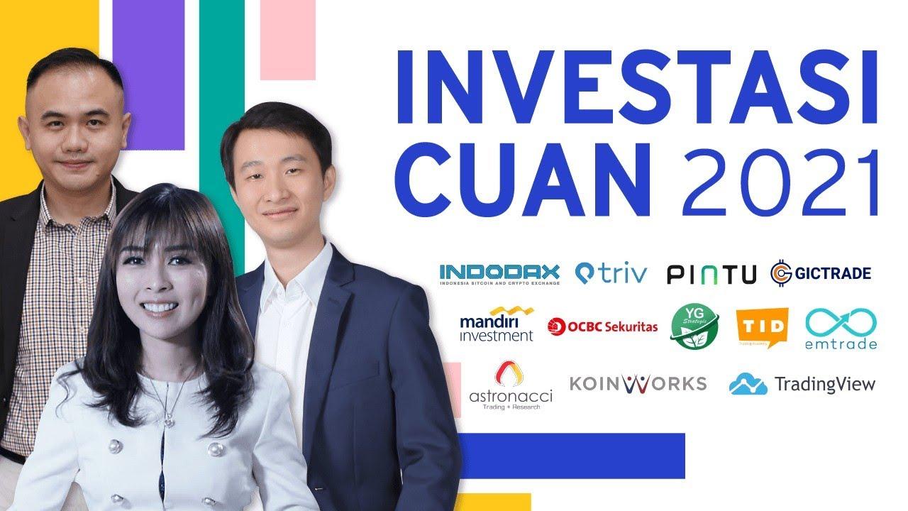 Investor Fest 2021 - Webinar Investasi Saham Forex Crypto ...