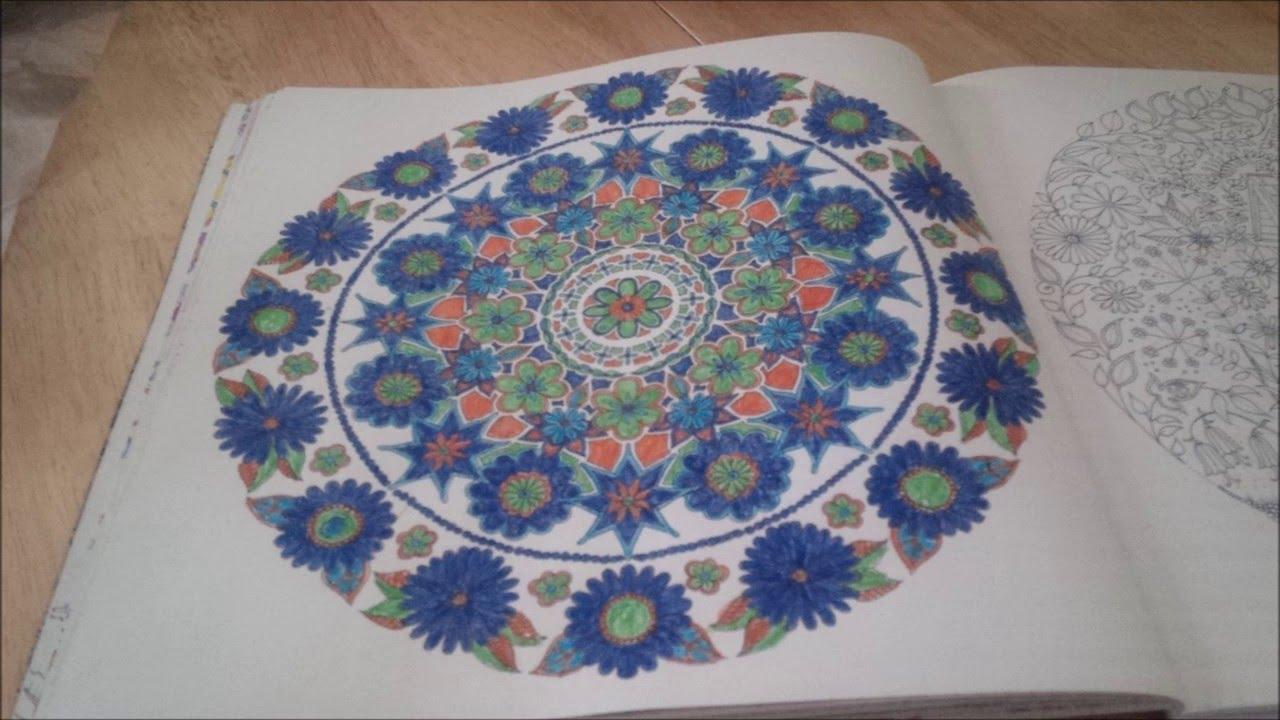 Secret Garden Abstract Flower Mandala