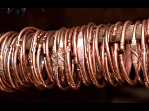 Latest Jewelry Design : Copper Bracelets for men by menjewell.com
