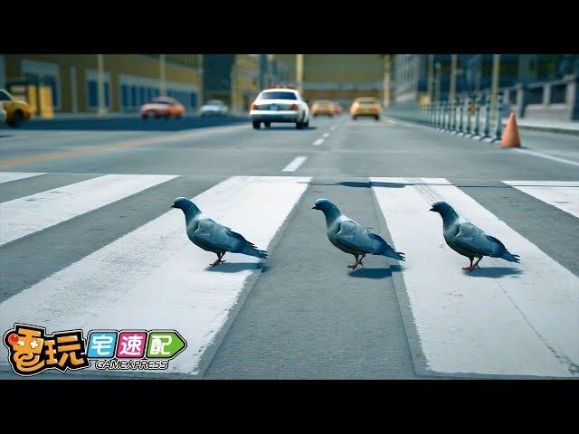 這「鴿」也太鬧了吧!《Pigeon Simulator》開發中遊戲介紹_電玩宅速配20190720