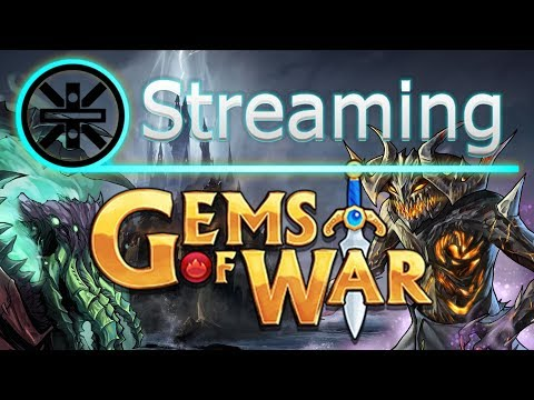 🔥 Gems of War Stream: New Faction! Sea of Sorrow Delving 🔥