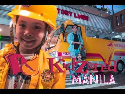 KIDZANIA Manila |  Guide Tour Inside Kidzania |  Mykah & Faith