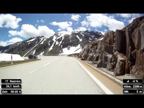 Indoor Cycling Training: Nufenenpass (Suisse / Alps) - in full length!!! (Part 3/3)