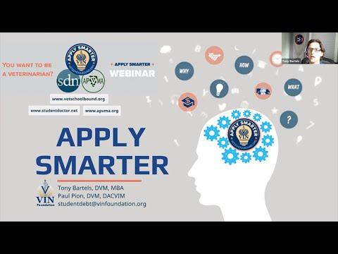 VIN Foundation | Apply Smarter To Veterinary School