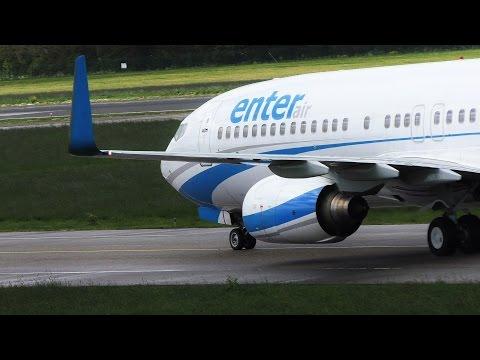 PLANE SPOTTING ROTTERDAM AIRPORT | Enter Air, Detur & Midnight Landing