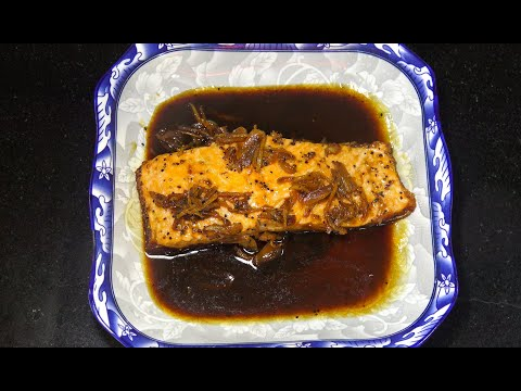 Salmon With Soy Sauce - Salmon Recipes - Youtube - Chinese Ginger Garlic Fish
