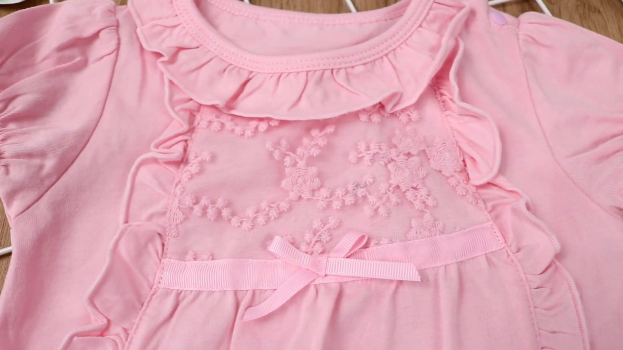 Summer Spanish Style Bubble Sleeve Ruffle Baby Romper Onesie Pink White Wholesale Youtube,Chocolate Brown Brown Brick And Paint Color Combinations
