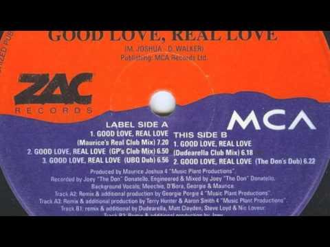 D'Bora - Good Love, Real Love (GP's Club Mix)