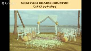 Chiavari Chairs Houston - (281) 978-2639