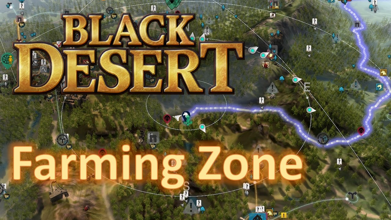 how to start farming black desert