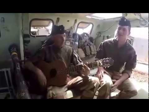 """Mission militaire au Mali Vive infanterie de marine """"Quand tu es loin de chez toi...."""""""