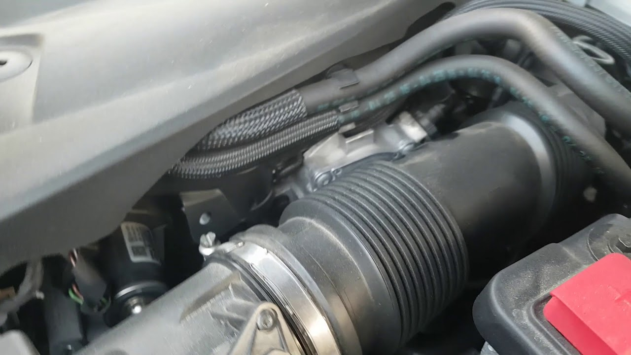 Volvo D5 powerpulse sel engine air leaking problem - YouTube