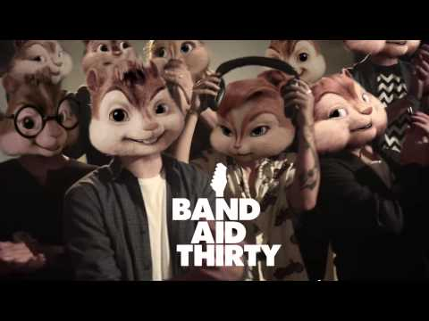 Band Aid 30 - Do They Know It's Christmas (Chipmunks Version)