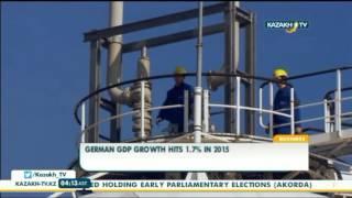 German GDP growth hits 1.7% in 2015 - Kazakh TV