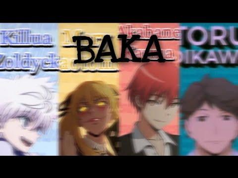 "Download Anime characters saying "" BAKA "" || TikTok"