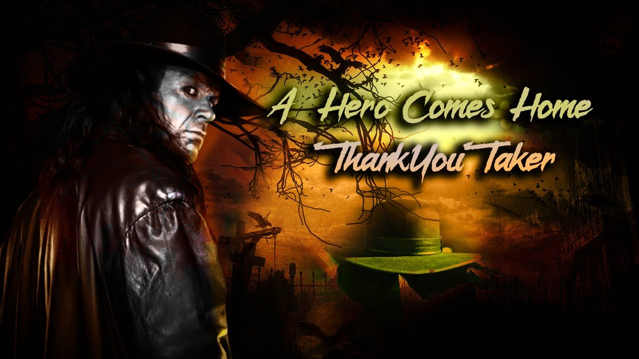 "thank you taker ""a hero comes home"" 2017 - youtube"