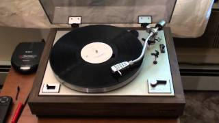 "PROJECT/one DR-IIA Turntable playing Chicago;""Does anybody know what time it is?"""