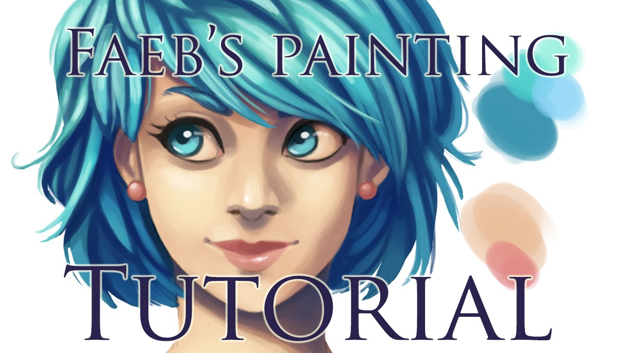 Digital painting tutorial photoshop youtube baditri Image collections