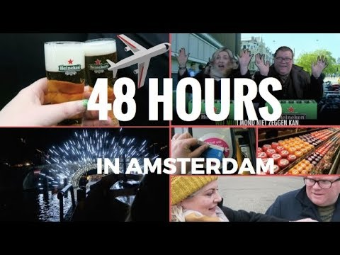 TRAVEL VLOG / 48 HOURS IN AMSTERDAM DAY 2