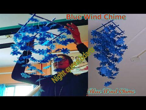 Wind Chimes,Home Decor,How to Make Wind Chimes Using Paper,Wind Chime diy from Color Paper,