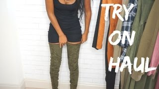 FALL TRY ON HAUL | FashionNova, Necessary Clothing!