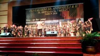 Lagu cikalalepongpong oleh paduan suara Beata Voce Choir Sd antonius jl sriwijaya medan