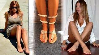 Selvaggia Lucarelli piedi nudi feet barefoot