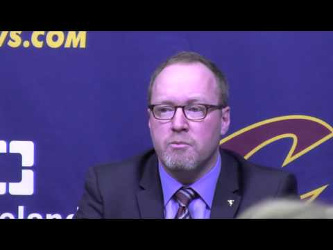 Cleveland Cavs GM David Griffin: LeBron doesn
