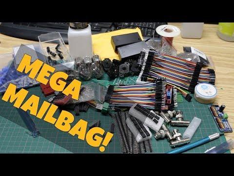 Mega Mailbag - Nixie Tubes, PWM Servo Driver, Darlington Drivers, Cables, Connectors, PCBs