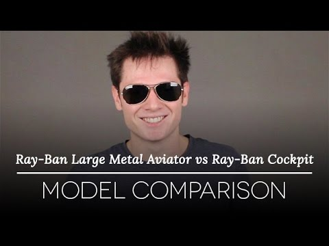 ray ban aviator and cockpit