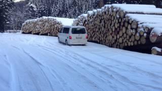T5 California 2.0 BiTDI 4motion - anfahren im Schnee