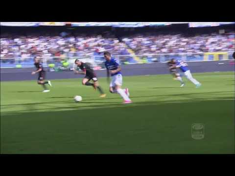 Il gol di Alvarez - Sampdoria - Milan - 2-0 - Giornata 6 - Serie A TIM 2017/18